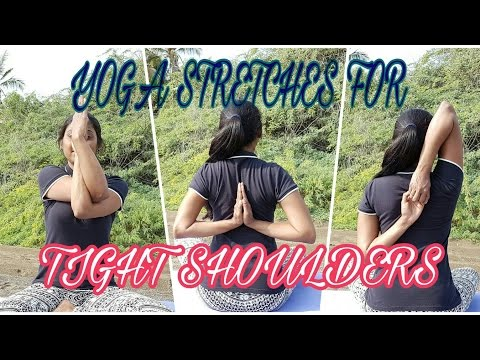 Best Yoga Stretches For Tight Shoulders With Suma | Part-1| Yoga warm-ups