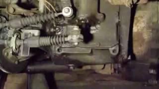 уаз 3741: тросы кпп и кулиса от портер 2. вид со стороны кпп