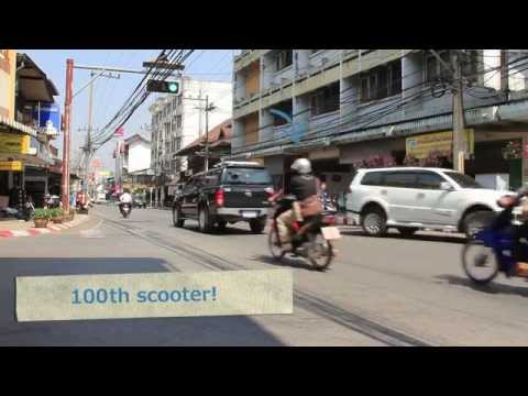 10 Observations in 10 Minutes at a Thailand Intersection