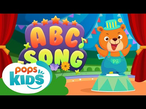 MCL English - ABC Song | Simple Nursery Rhymes And Kid Songs on POPS Kids