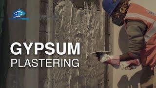 Gypsum Plastering - SP Hand Skills Training Video (Hindi)