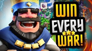 Best Tips & Strategy to DOMINATE in Clan Wars | Clash Royale