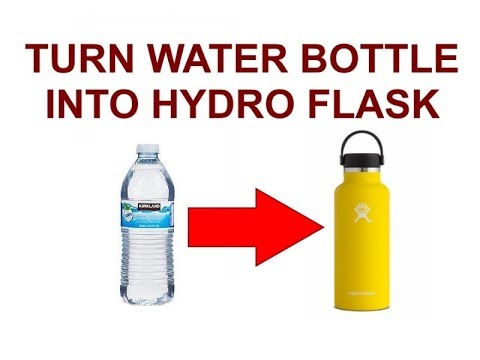 HOW TO MAKE A HYDRO FLASK DIY
