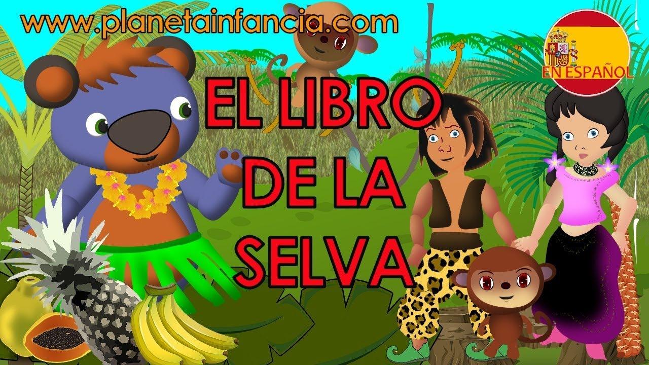 El Libro De La Selva Cuentos Infantiles Cuentos Cortos Para Niños Youtube