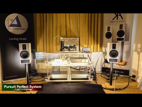 NEW Kerr Acoustic K300 Speakers Clearaudio DS Audio Furutech Exposure @ Bristol HiFi Show 2020