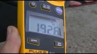 РЕСАНТА САИ 250 - больше 200 ампер не даёт(Четыре года продаем РЕСАНТА САИ 250 и вот решили проверить его клещами постоянного тока, купленными нами..., 2013-07-16T15:43:54.000Z)