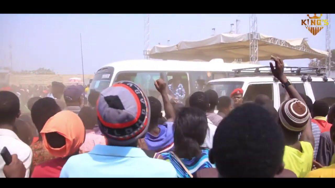Alikiba performing for President Magufuli & Ndayishimiye of Burundi in Kigoma