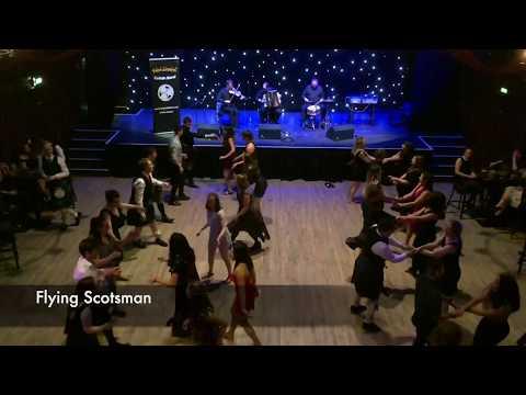 HotScotch Ceilidh Band - Traditional Scottish Ceilidh Dancing In Teviot Row, Edinburgh