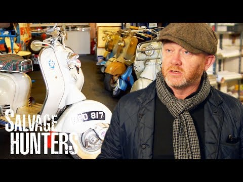 Rare 1950s Lambretta Scooter Catches Drew's Eye In Somerset    Salvage Hunters
