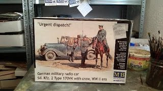 """Kit review: Masterbox """"urgent dispatch"""" Kfz. 2 in 1/35 scale"""