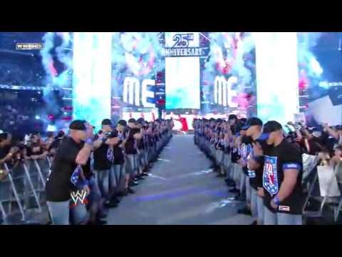 Big Show vs John Cena vs Edge Part 1 ( Wrestlemania 25)