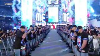 Big Show vs John Cena vs Edge Part 1 ( Wrestlemania 25)