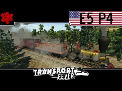Transport Fever American Campaign - Mission 5 (Part 4) Increased Resource Production