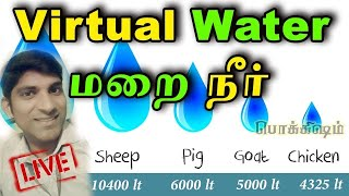 Bhoomi மறை நீர் | We need Virtual Water Economy | 2 Years Old Video – ReUpload | Tamil Pokkisham