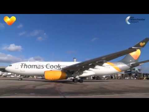 Thomas Cook Airlines First Flight From Manchester To