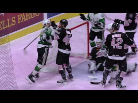Highlights: Rampage vs Stars 2/3 Pink in the Rink