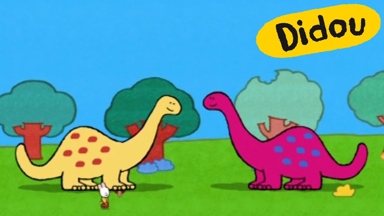 Dinosaure didou dessine moi un dinosaure dessins - Dinosaure dessin anime disney ...