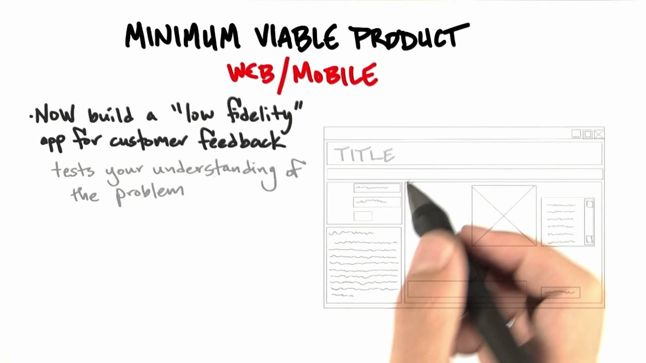MVP Webmobile - How to Build a Startup