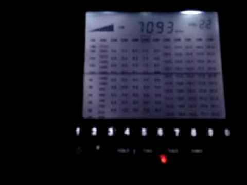 radio degen 1103 iluminaçao branca - YouTube
