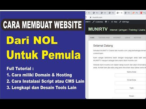 🌐cara-membuat-website-dari-nol-i-munirtv