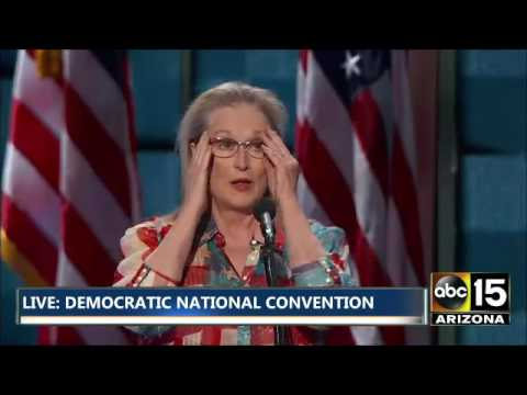 FULL: Meryl Streep is very excited - Democratic National Convention
