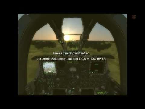 360th Falconeers DCS:A-10C Beta 1 Trainingsschießen HD