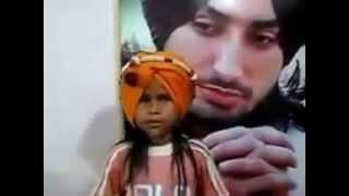 REAL SUFI REAL SOUL -71 (  Cute Little Satinder Sartaj ) Nikki Jahi Kudi.
