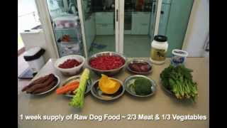 Rawfood For Dogs ~ Part 2