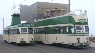 Blackpool Tramway: Easter Bank Holiday Heritage Action (Monday 6th April 2015)