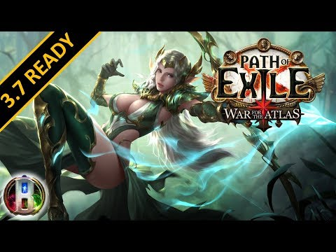 Path of Exile 3.6 - Tornado Shot Build - Deadeye Ranger - Synthesis