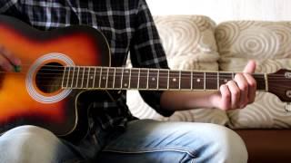 Pink Floyd - Wish You were here - как играть на гитаре - how to play on guitar