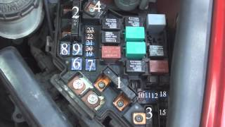 fuse diagram honda civic 2006- 2011