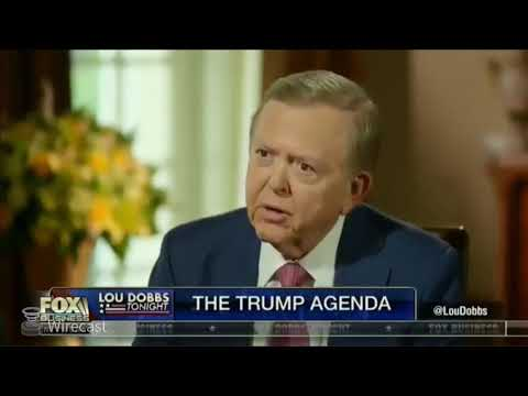 President Trump Full INTERVIEW ONE ON ONE   With Lou Dobbs   Breaking News Tonight