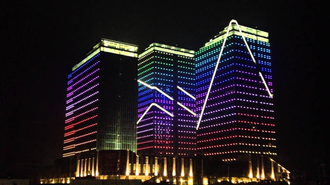 LED facade lighting -- Pingtan Strait City China & LED facade lighting -- Pingtan Strait City China - YouTube azcodes.com