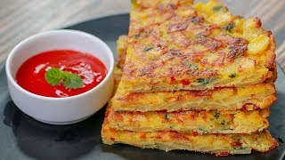 Potato Omelette Recipe | Easy Breakfast Recipe | Easy Snacks Recipe | Kids tiffin Box Idea | Toasted