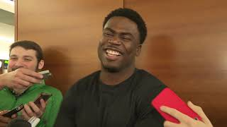 Quincy Enunwa talks new deal with Jets, teammates talk new deal!