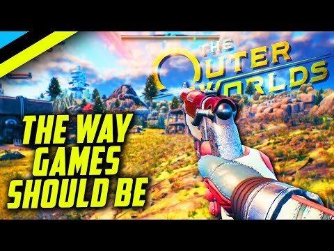 The Outer Worlds Review | An FPS RPG That DESTROYS The Competition