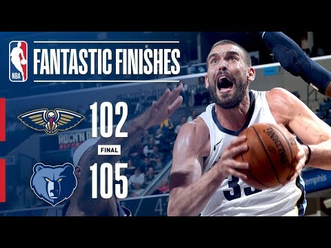 The Pelicans and Grizzlies Go Down to the Wire in Memphis | January 10, 2018