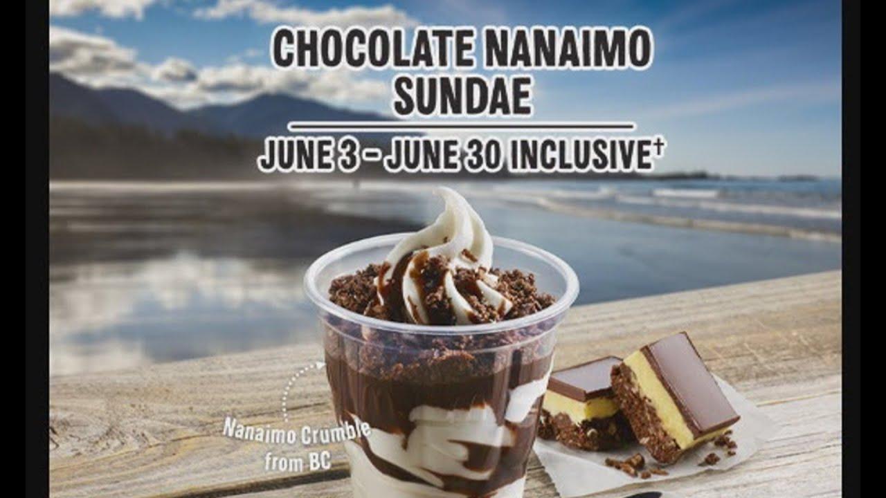Scott's Eh-Sclusives - McDonald's Chocolate Nanaimo Sundae - YouTube
