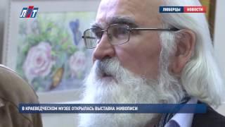 В краеведческом музее открылась выставка живописи