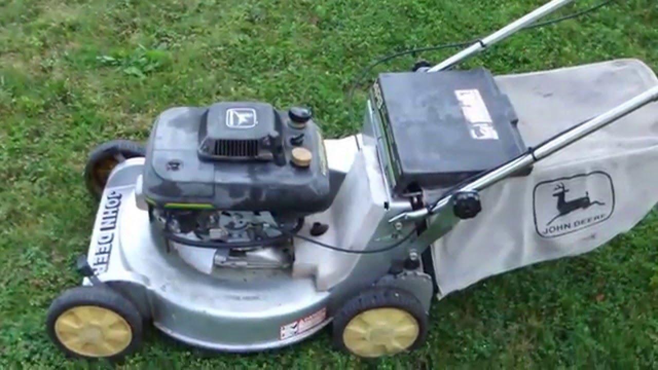 John Deere Mower With Kawasaki Engine