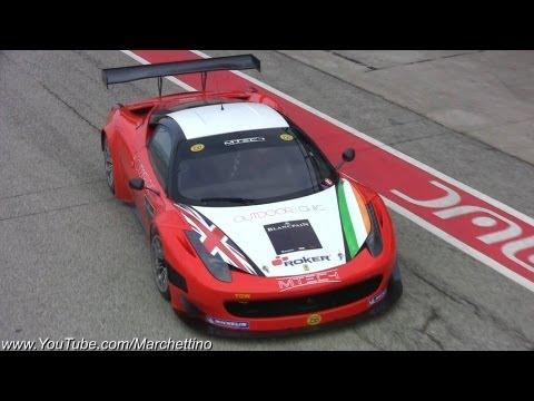 Ferrari 458 GT Loud Accelerations and Downshifts