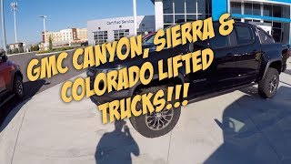 GMC Canyon, Sierra & Colorado Lifted & Modded Trucks!!