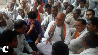 BJP candidate C.P. Upadhyay thinks Karvi needs better irrigation, health & infrastructure facilities