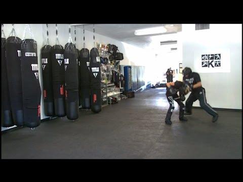 Krav Maga - Fight Class - September 17, 2016 (Sprawl/Overhook/Knee Strike)