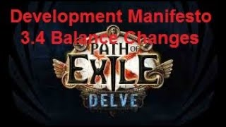 [Path of Exile] 3.4 Delve Balance Changes