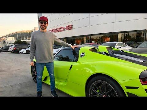 Picking up my Porsche 918!