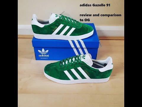 Adidas Gazelle '1991' - Plus comparison with OG!