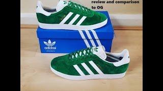 Adidas Gazelle '1991' - Plus comparison with OG! - YouTube
