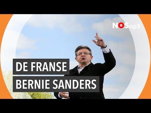 Franse jongeren gaan voor Jean-Luc Mélenchon  | NOS op 3